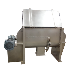 horizontal ribbon mixer food drum mixer spices mixing machine