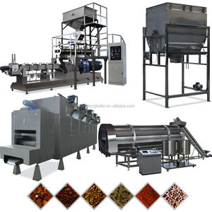 Jinan Shandong Grote Output Kat Pellets Machines Hondenvoer Productie Machines