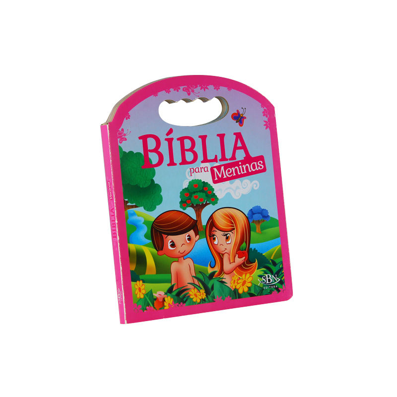 Wholesale Custom Children Learning bibles christian heiligen bibel druck Age 4 - 10 <span class=keywords><strong>kinder</strong></span> Study Bible Story griff bord buch