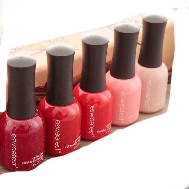 Lasenta Magic red 15ml Nail Gel Pure Series Soak Off UV Nail Art UV Gel Polish