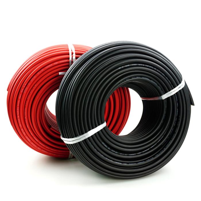 Amensolar tuv approved power station solar cable 10mm2 for solar energy system