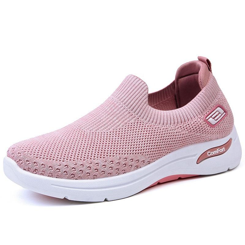 H-5A High Quality Light Weight Casual Women Shoes Ladies Pink Shoes Sports Zone Youth With Jeans Arch sneakers