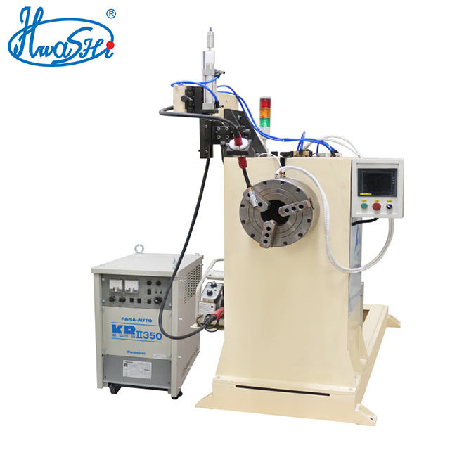 PLC Control Circular Seam MIG / TIG Welding Machine with Automatic Rotating System