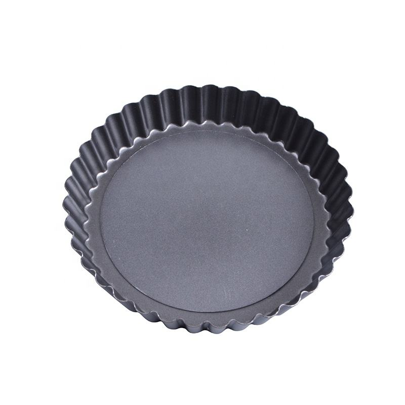 "Amazon Product Top Seller 2019 Fluted Baking Tray Pan With Removable Base Pie Pans 5.5"" 14cm"