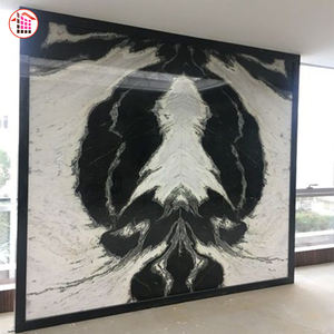 Chinese Manufacturer Polished Home Design White Panda Marble Wall Floor Tiles And Marble Flooring White Panda Marble Importers