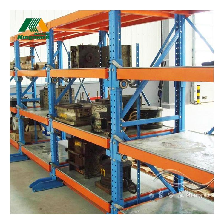 Pallet racking warehouse storage of heavy mold drawer rack