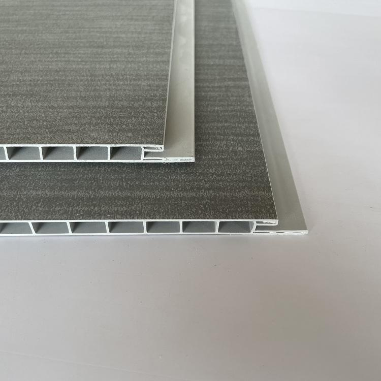 Huiming 2021 new arrival 30cm wide laminated PVC ceiling tiles wall cladding for quick installation