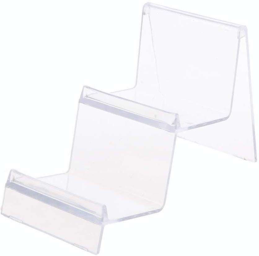 Clear Acrylic Wallet Leather Handbag Purse Jewelry Display Stand