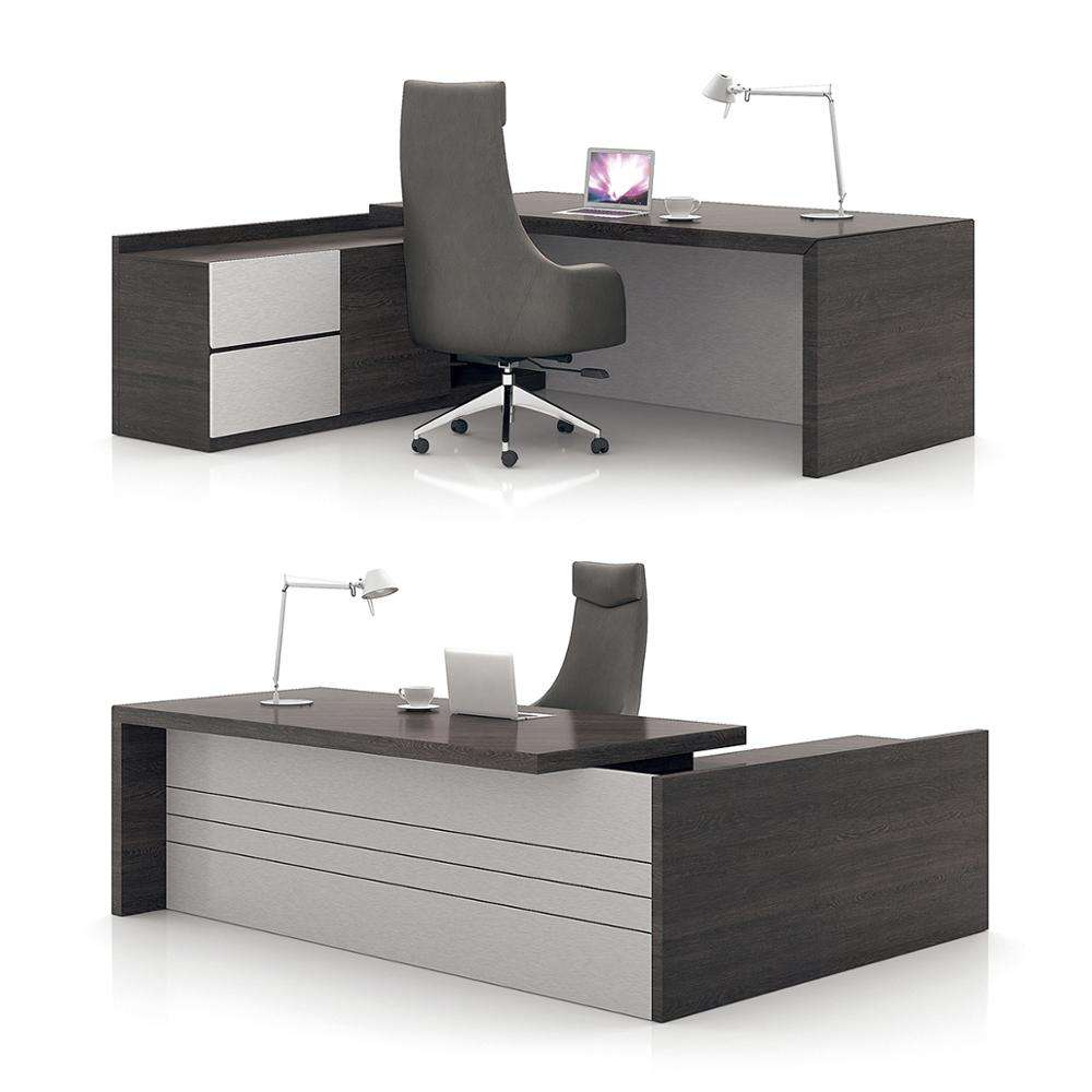 New Design Low Cost Desk Office Set Managing Desk Office Furniture Executive Desk Office with Reasonable Price