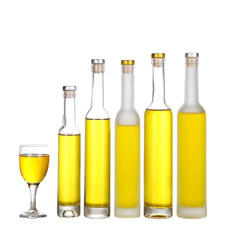 glass bottle supplier 500ml wine alcohol bottle glass with screw cap