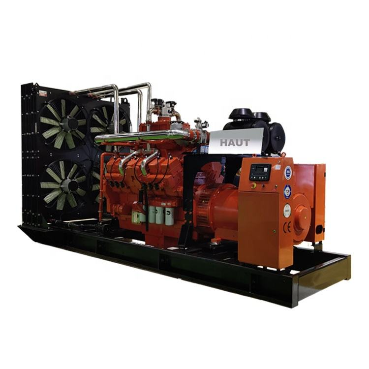 Clean Energy Natural Gas generator 500kw Biogas Methane Gas Engine 625kva Biomass Generator Price