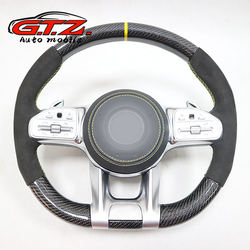 FOR  Benz GLA -class CLA200 GLA260 GLA300 old model to  new A MG carbon fider steering wheel  Customized