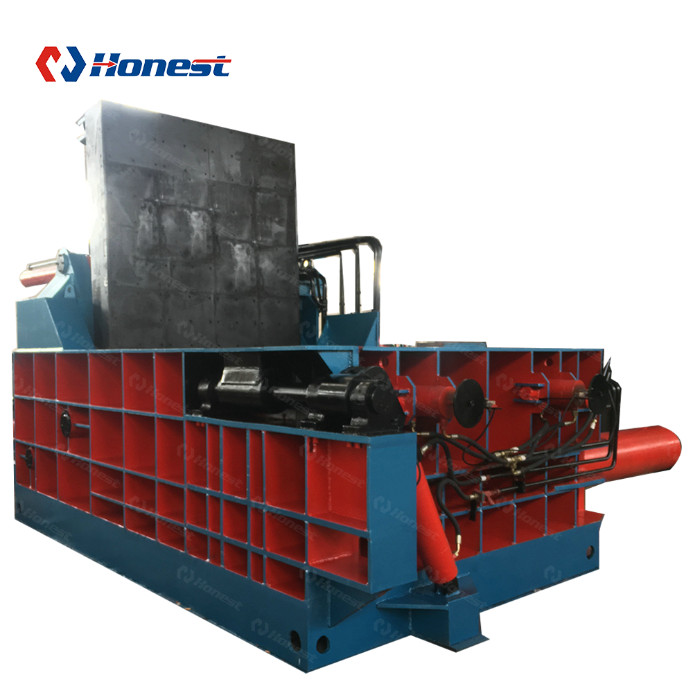 Ziptop Can Compressing Machinery Scrap Iron Aluminum Metal Baler