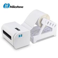 Milestone 4X6 label printer shipping label printer direct thermal shipping label printer widely used in shipping