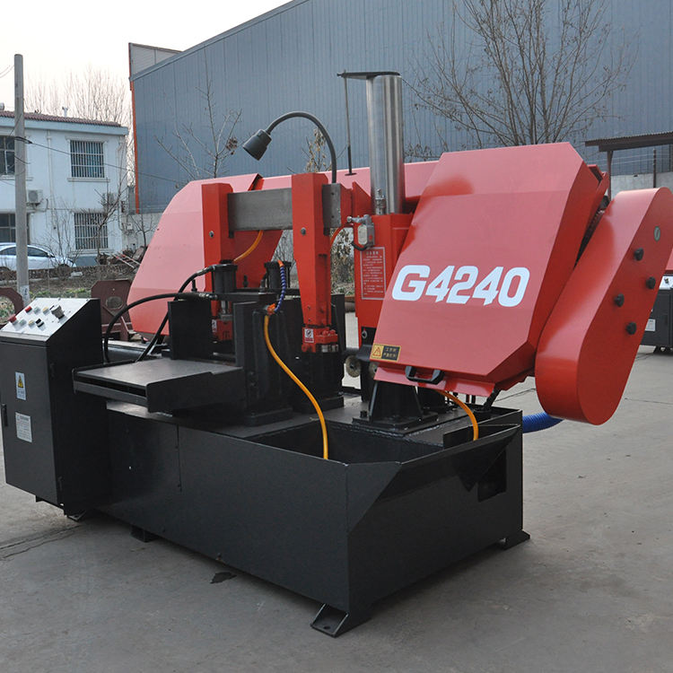 Electrical Cnc Tube Iron Steel Metal Cutting Automatic Welding Steel Pipe Flying Band Sawing Machine