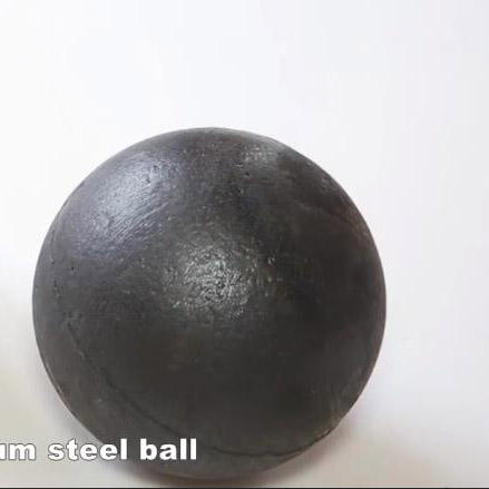 60mm Low Chromium Alloyed Cement and Mine Mill steel ball grinding Chrome steel ball steel grinding ball