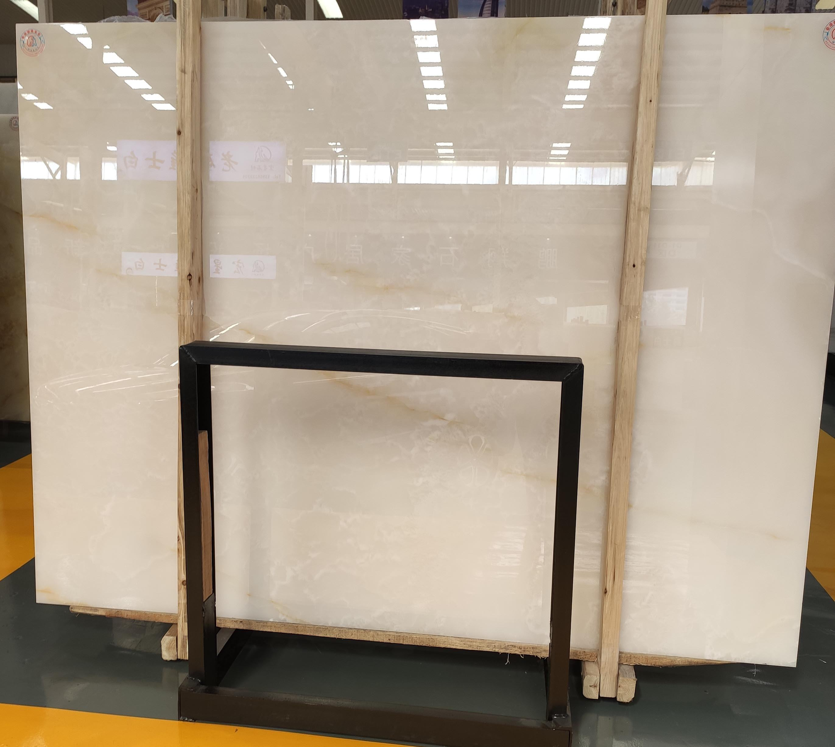 High Quality White Onyx/Jade Slabs For Wall Tile