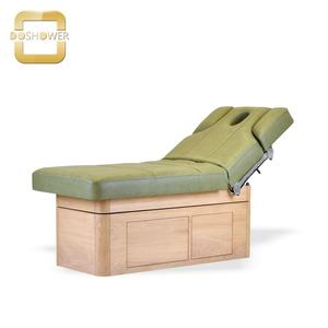 massage bed luxury mattress with adjustable salon facial bed for antique massage table