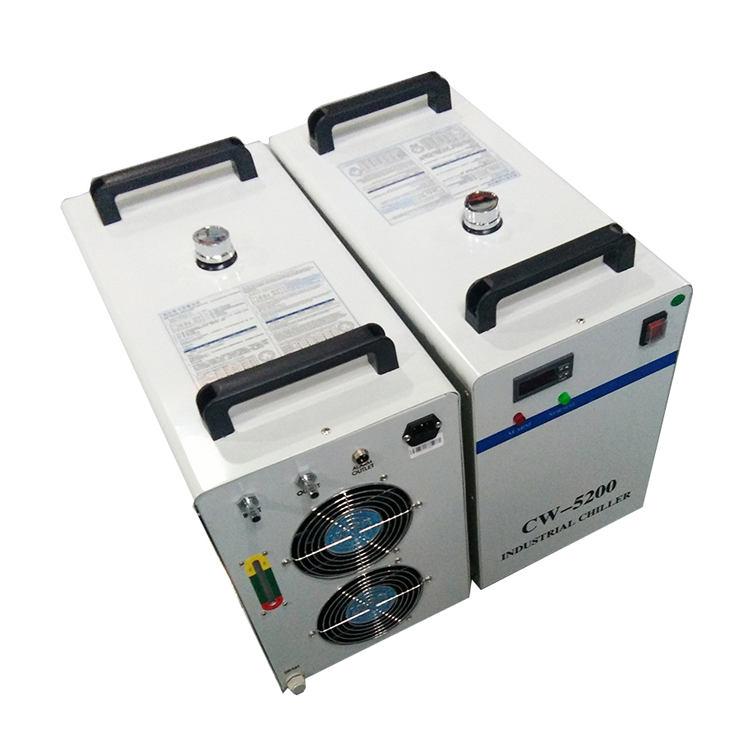 Air-cooled co2 laser water chiller price CW5200