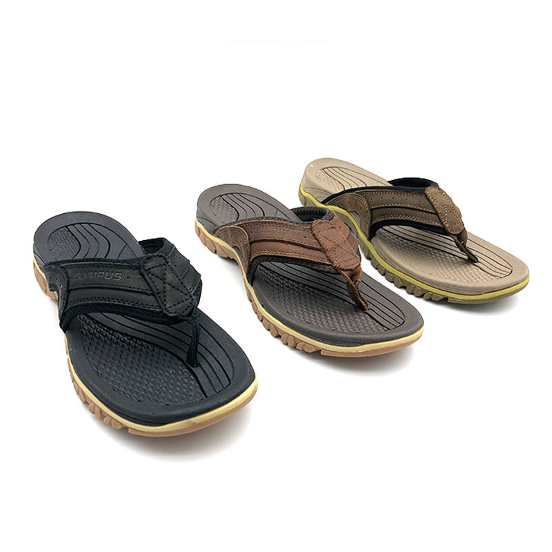 Fabrikant China Slippers Man Walking Goedkope Casual Romeinse Sandalen Voor Mannen