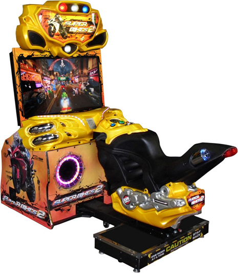 Dinibao Hot 42 Inch Luxe Ff Motor Racing Games Simulator Motorfiets Racing Arcade Game Machine