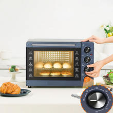 Electric oven household baking multifunctional 32 litre large capacity independent temperature control timing