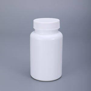 200ml HDPE Opaque Plastic Pharmaceutical Empty Bottle Tablet Container Holder