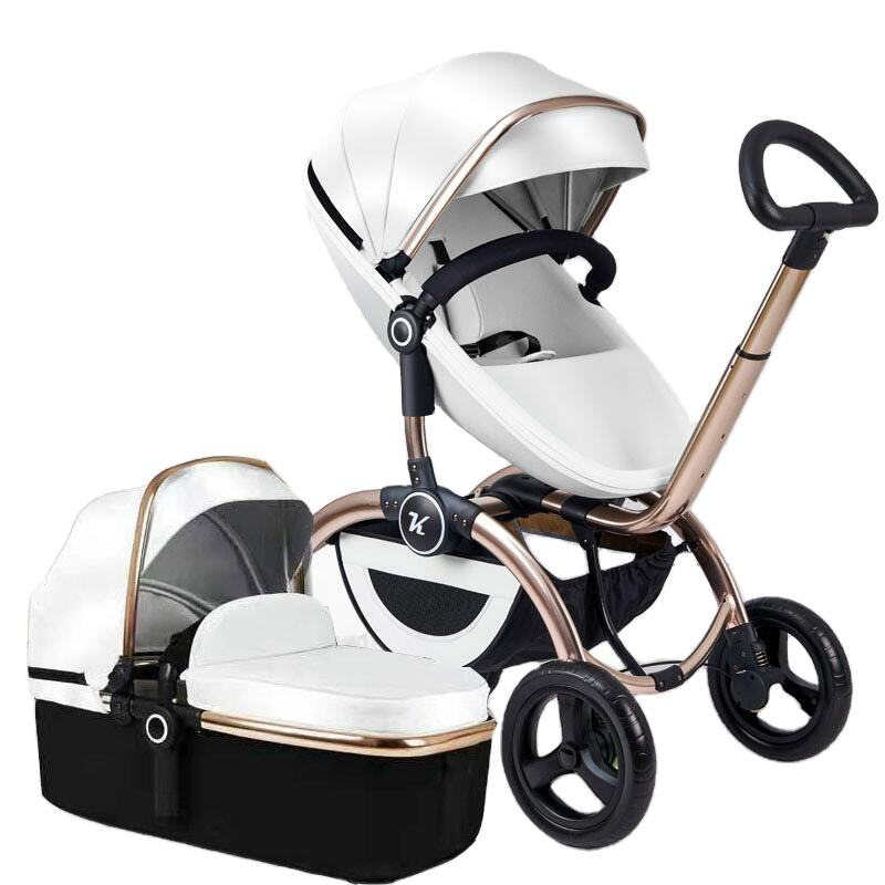 2021High view baby stroller/sit and recline baby stroller/lightweight folding baby stroller