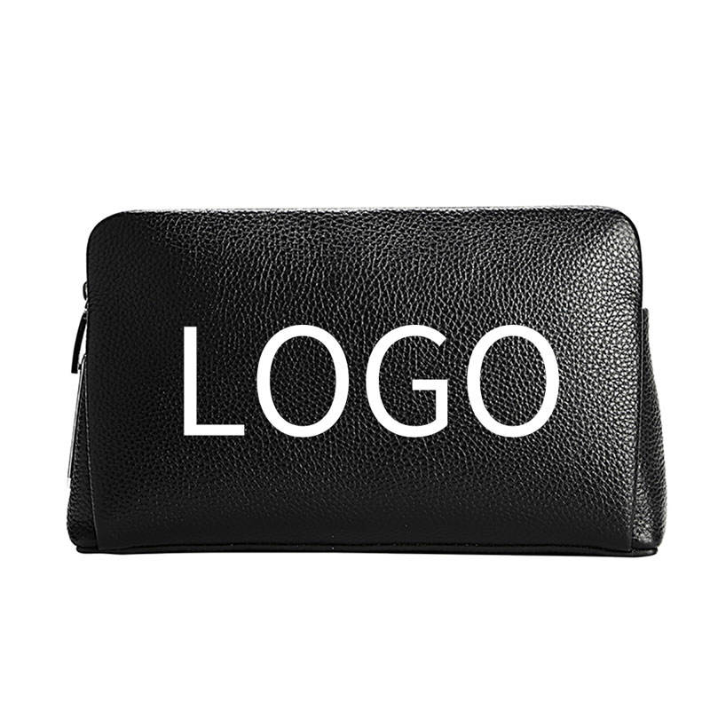 BUBM latest custom wholesale private label luxury genuine leather men clutch bag handbag