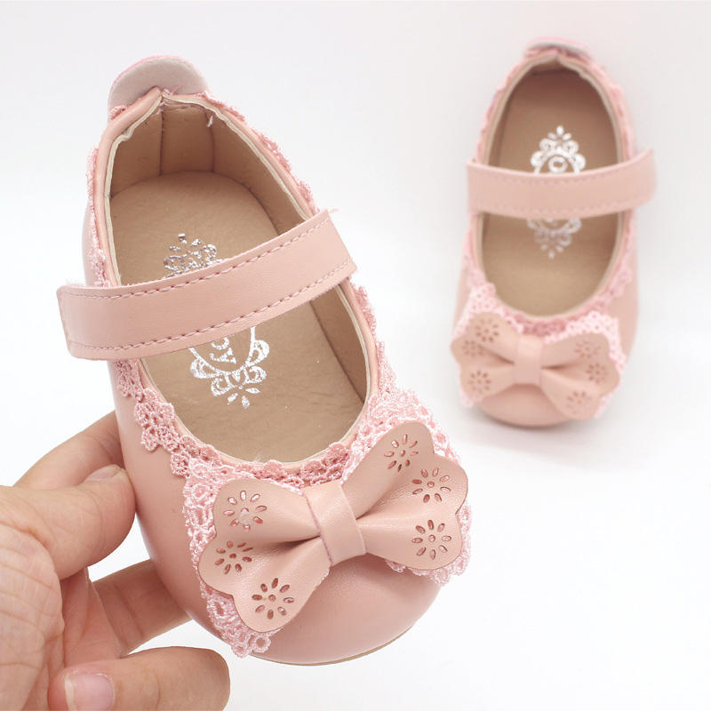 little princess lovely bowknot design baby girls dress shoes cheaper price