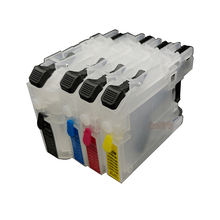compatible brother cartridge empty ink tank LC 123  Refill  Ink  Cartridge for brother DCP-J132W /J152W /J552W