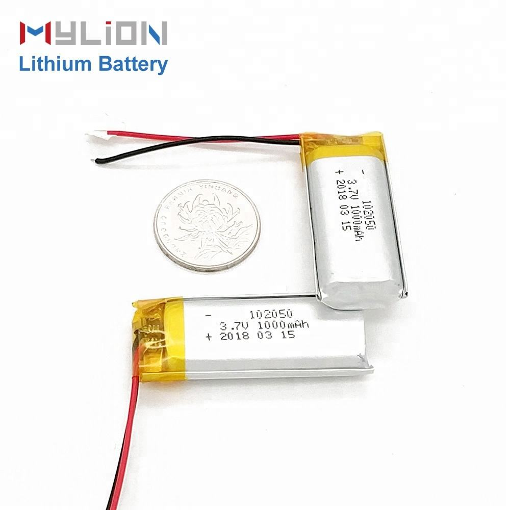 mylion factory 3.7v 7.4v mini lipo battery with pcb, lithium polymer battery 3.7v lipo cells bluetooth headset battery