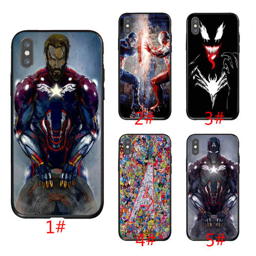 Wholesale Marvel iron man phone case New Products Hot selling Factory Price Printing for Huawei series cell phone case