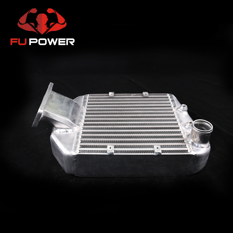 Induction Aluminum Turbo Water Top Mount Intercooler Cooling core kit For Toyota Landcruiser 80 Series1HDT 4.2L turbo Diesel