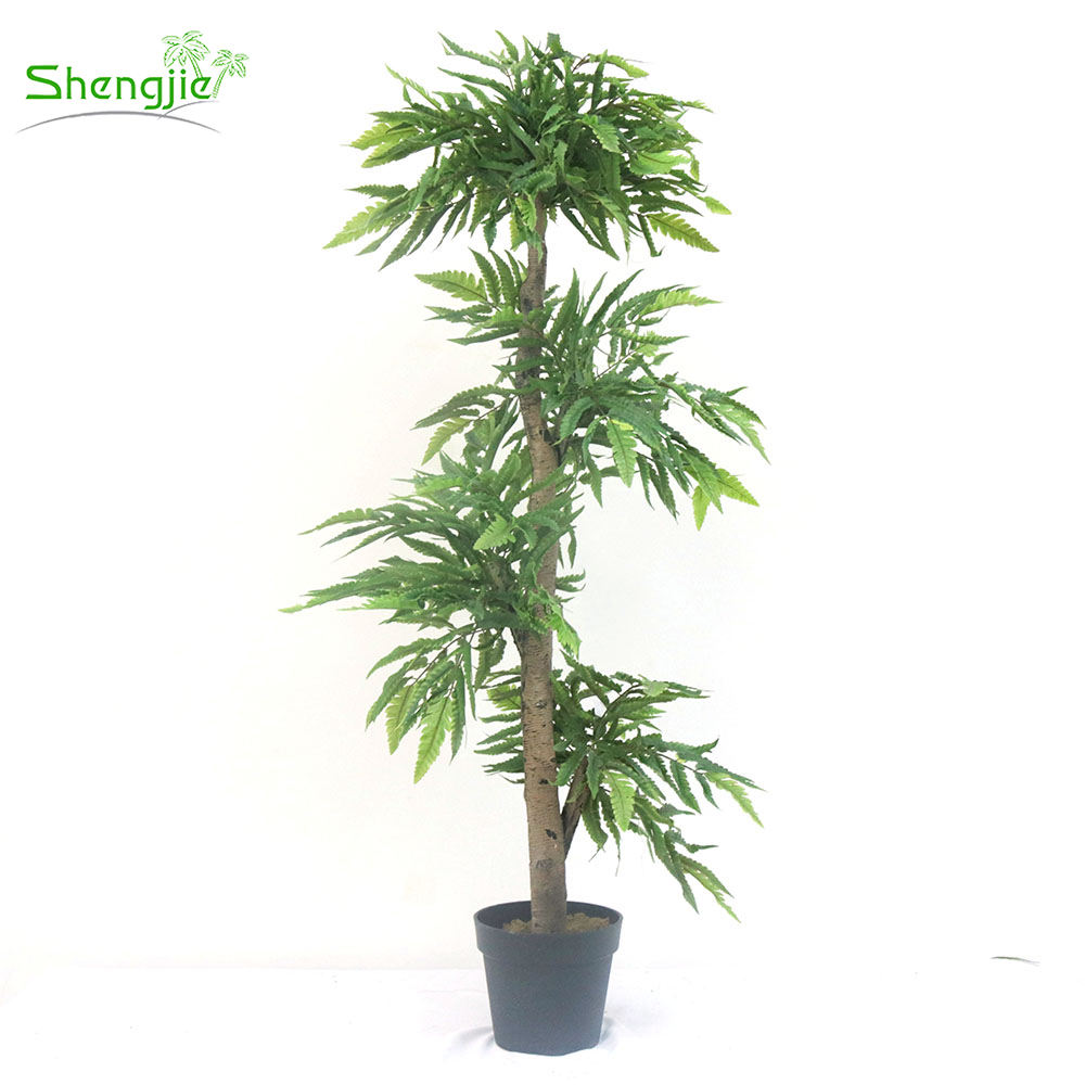 Make Indoor Decor Simulated Artificial Bonsai Tree Plant Plastic Tree