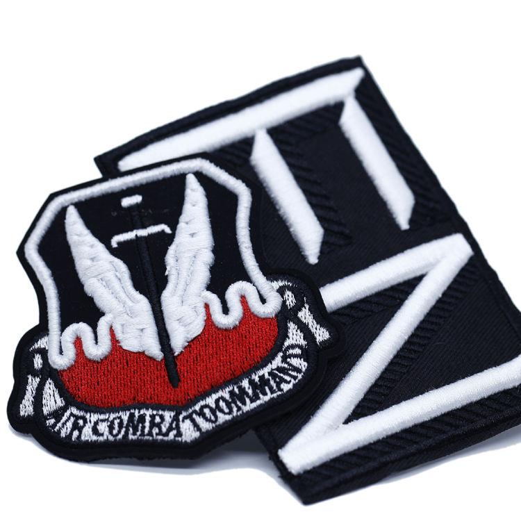 Commercio All'ingrosso di Alta Qualità su Misura Il Vostro Proprio Ferro Sul Badge Ricamato Patch per Abbigliamento