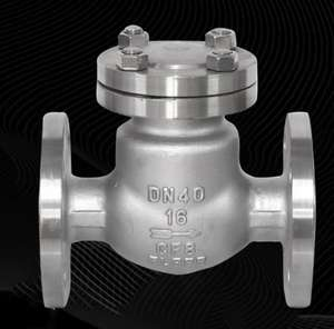 TKFM din dn400 100 stainless steel daniel piston swing wellhead check valve