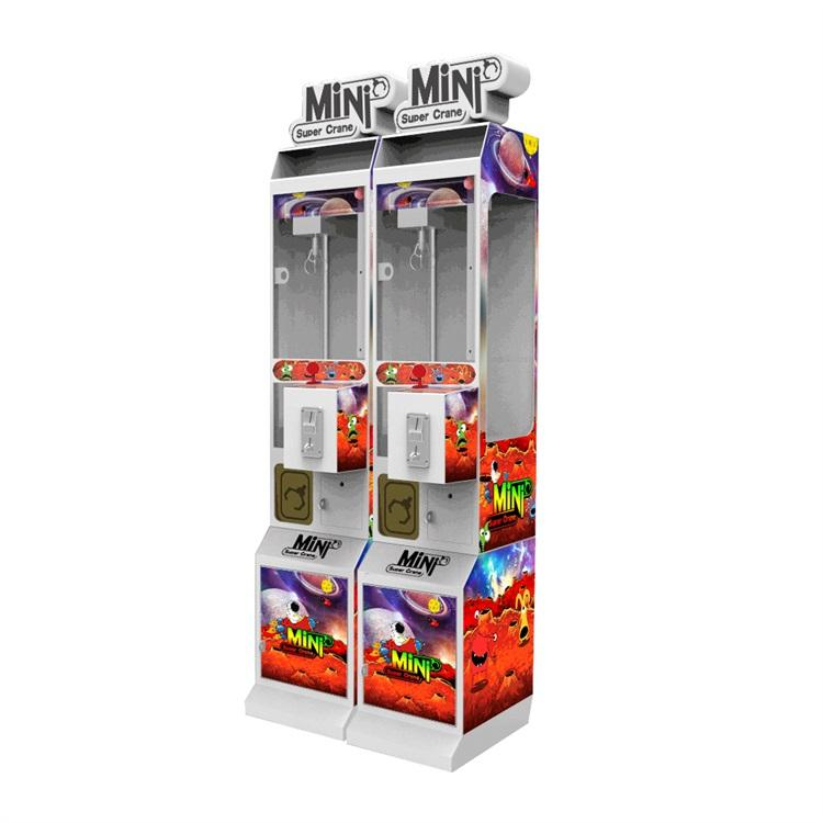Neofuns coin operate Arcade Catch Mini Toy Crane Claw Kids vending Game Machine for sales