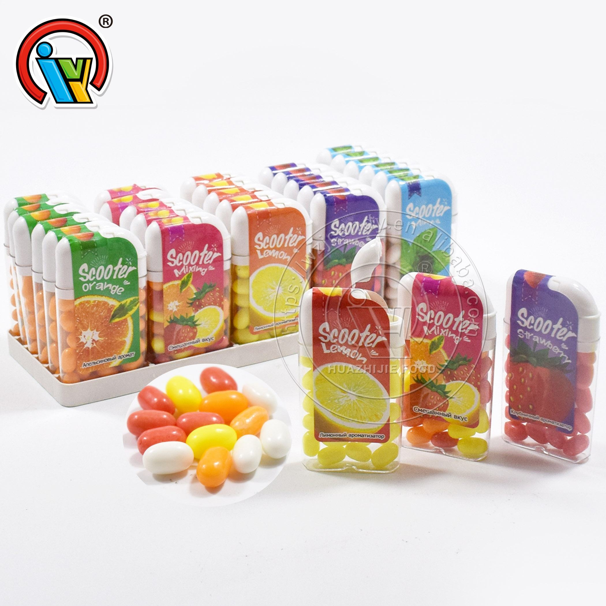 Packaging Customization Gummy Halal Halal Sweet Jelly Bean Candy Gummy Candy In Bottle