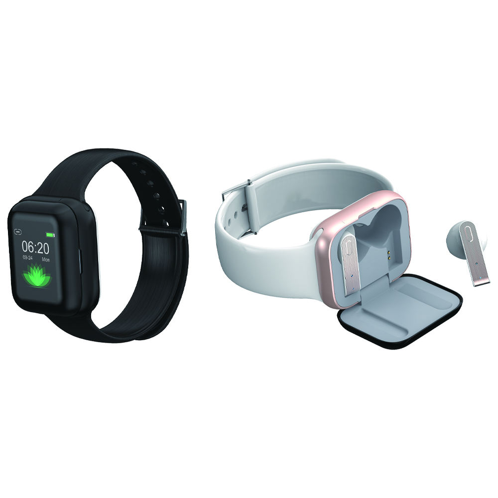 Hot New Smartwatch Phone With Earphone Earbuds Headphones