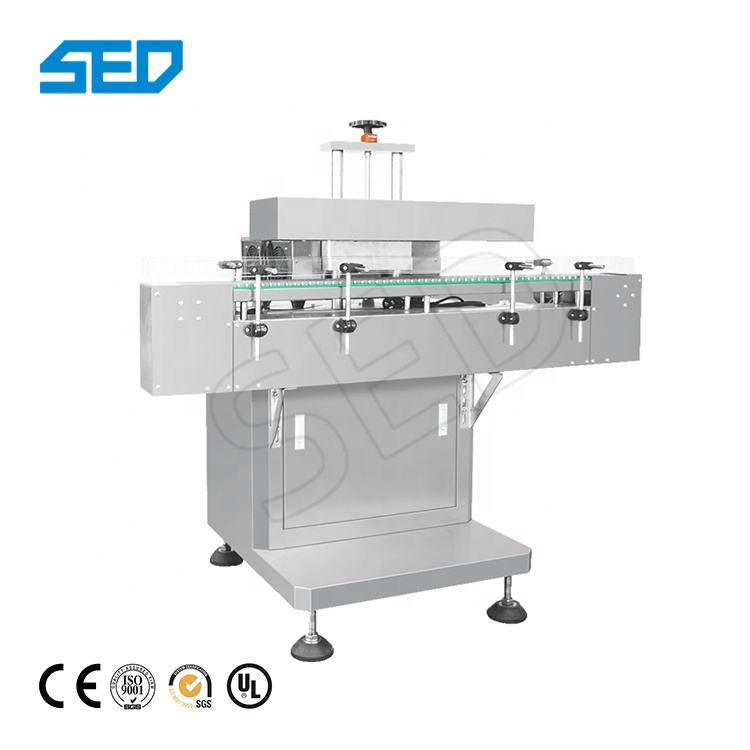 Automatic Glass Bottle Cap Electromagnetic Induction Aluminum Foil Sealing Machine Plastic Bottle Cap Sealer