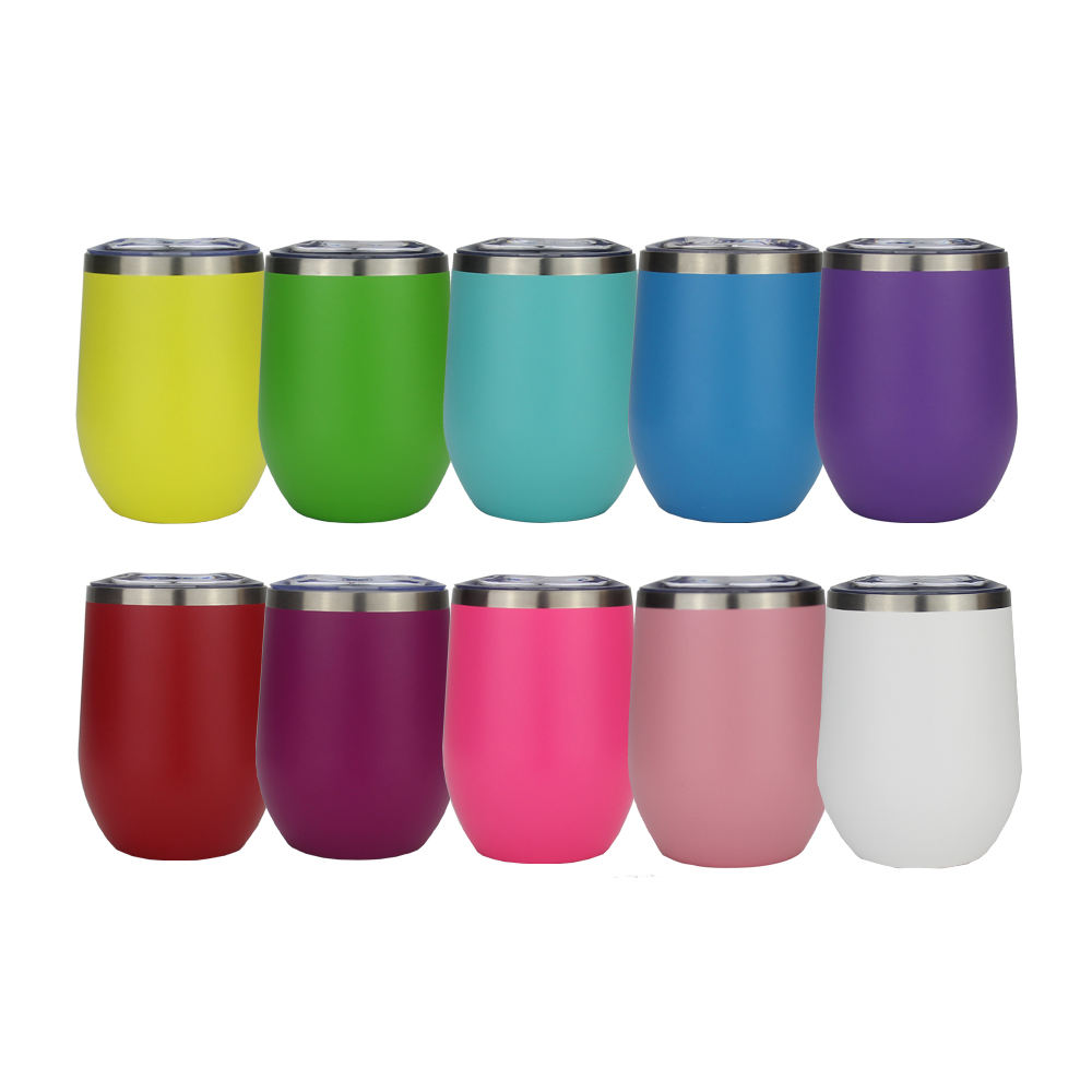 12oz drinking bullet tumbler 20oz stainless steel double wall tumbler cup eco black epoxy matte tumblers logo custom