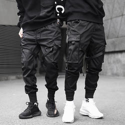 Youth Pants Men Overalls Streetwear Men Joggers Casual Multi