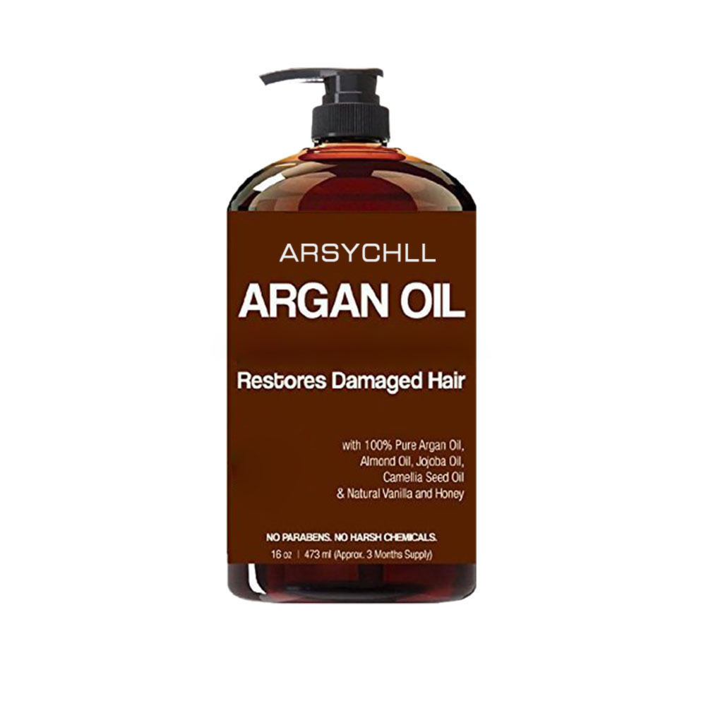 Private Label No Side Effect Natural Bio keratin Hair Care Organic Argan Oil Shampoo