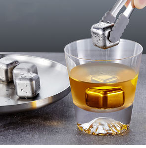 Amazon Hot Selling Whiskey Chilling Stones Rvs Ice Cube Voor Bar Accessoires