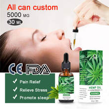 Custom Wholesale 100 % Pure Natural 5000mg Cbd Isolate Thc Oil Hemp Oil Private Label / Eco Friendly Organic Hemp Seed Oil