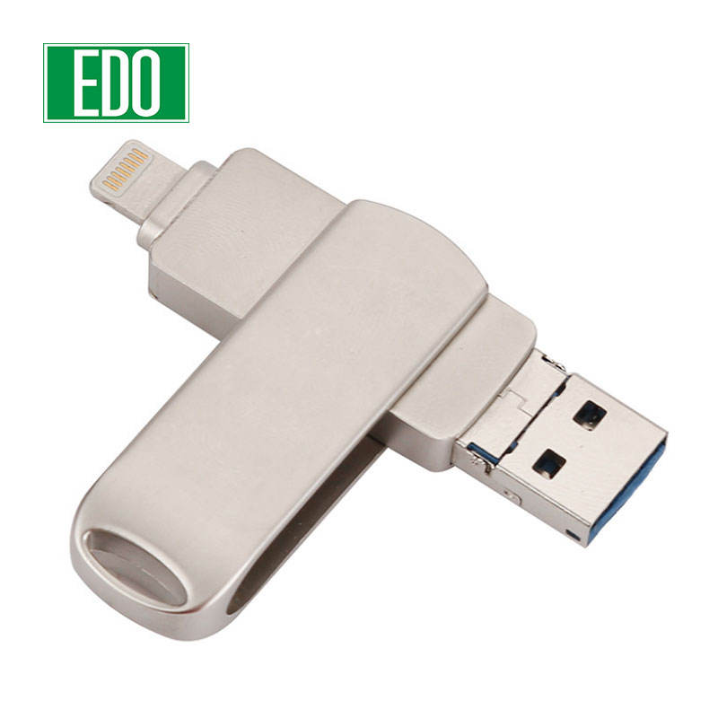 Kim Loại Mini Disk Pen Drive OTG Usb 2.0 3.0 Usb Flash Drive 16GB 32GB 64GB Pendrive Usb Stick