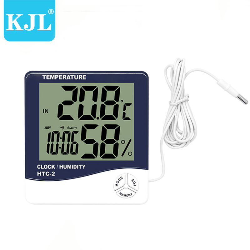 electronic outdoor indoor lcd digital thermo thermometer hygrometer best thermometer