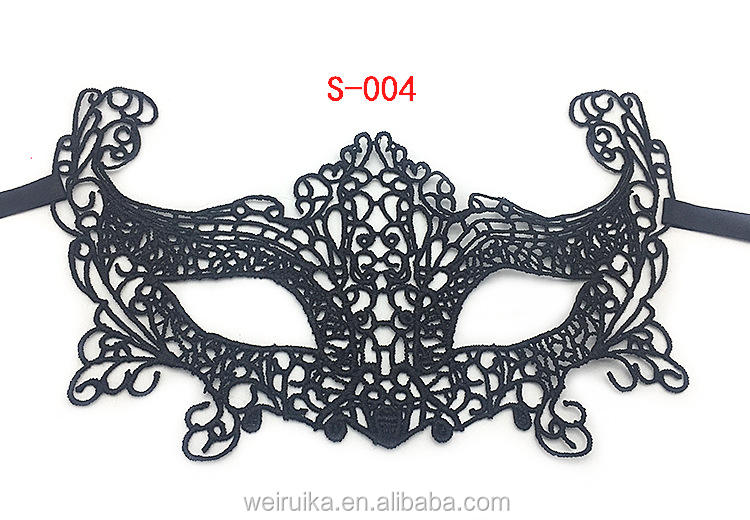 Amazon's Bestselling Party Lace Faceless Dance Party Halloween Prop Half Face Sexy Bar Eye Mask