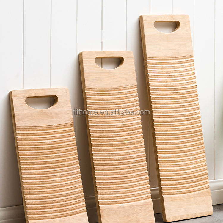 Durable household bamboo washboard